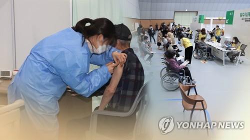 韓明起接受70至74歲老年人新冠疫苗接種預約