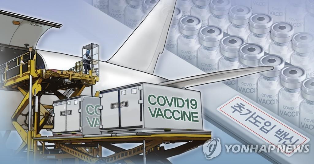 南韓採購新冠疫苗陸續到貨緩解接種壓力