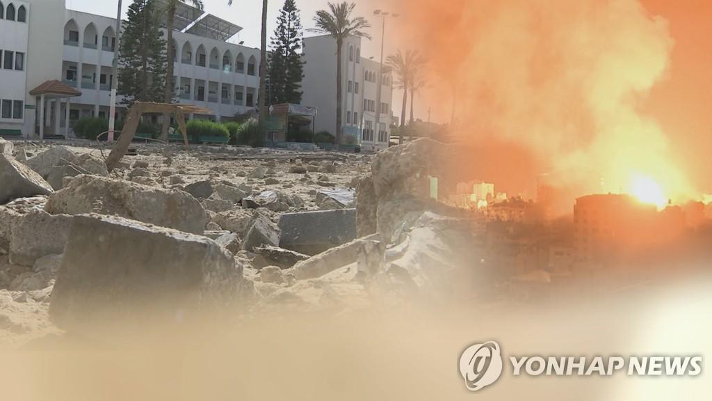 朝媒連日報道巴以武力衝突消息譴責以色列