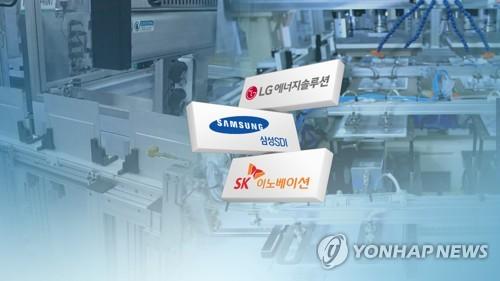 韓電池三巨頭上半年全球市佔率34.9%