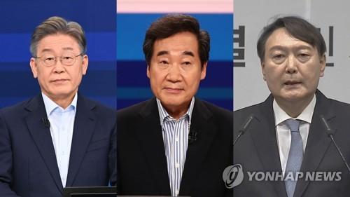 民調:韓下屆總統人選民望李在明領跑