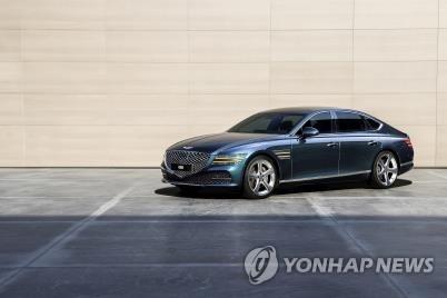 現代汽車將召回177輛捷尼賽思G80電動版