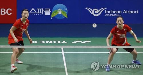 福州羽毛球公開賽 南韓女雙組合摘銀