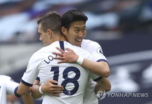 孫興慜被熱刺傳奇球星評選為本賽季最佳球員
