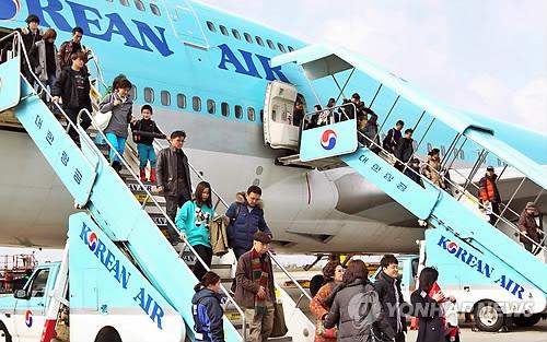 春節假期將有3萬中國遊客訪問濟州
