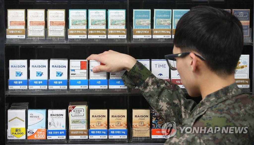 韓軍吸煙率跌破四成創新低