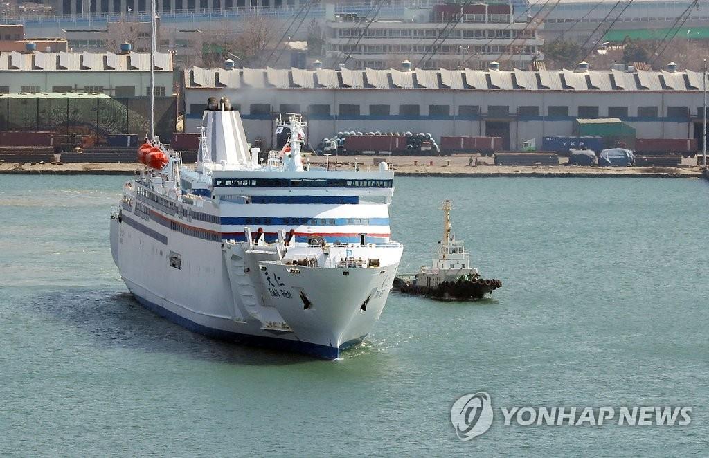 韓中客滾船行業受疫情重創面臨危機