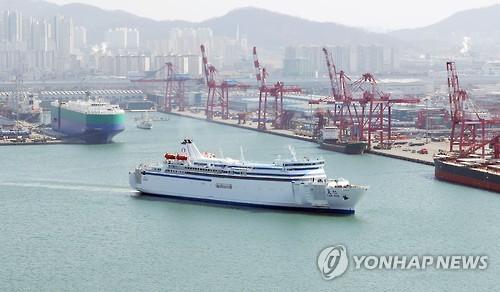 南韓仁川至中國輪渡客運量時隔8年再破百萬