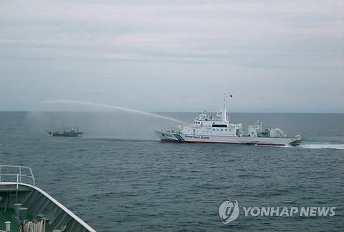 朝外務省:出於自衛驅逐日本非法侵入船隻