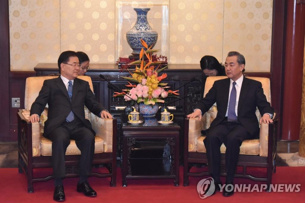 韓中外長通電話重申安排習近平訪韓決心