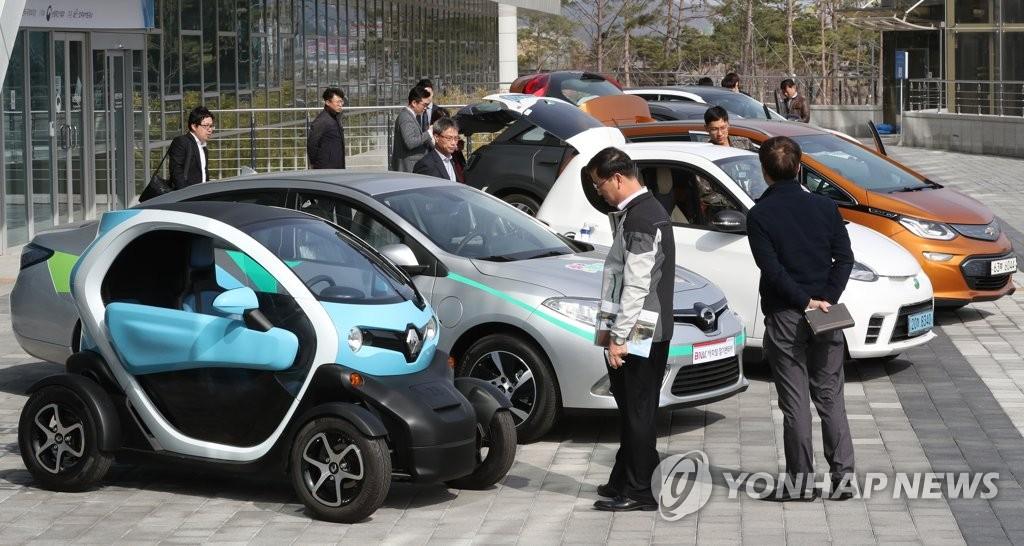 南韓汽車登記量近2400萬 環保車破60萬輛