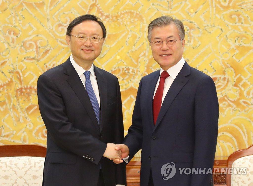 消息:中共中央政治局委員楊潔篪或下周訪韓