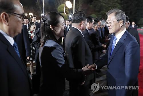 金與正狠批文在寅關於韓朝六一五宣言的言論