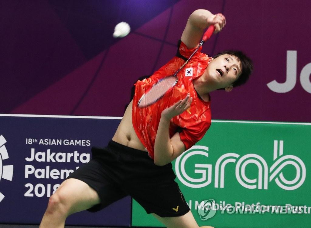 南韓選手許侊熙挺進東奧羽毛球男單八強