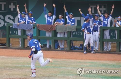 亞運棒球四強迴圈賽南韓5比1勝日本