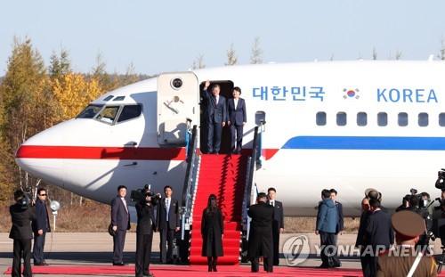 詳訊:文在寅乘機離朝回韓