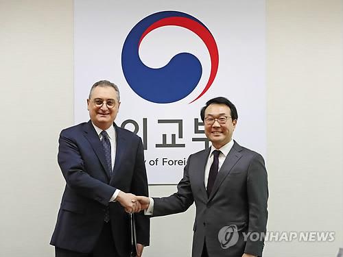 南韓對朝代表下周訪俄