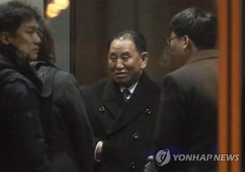 詳訊:朝鮮高官金英哲抵美