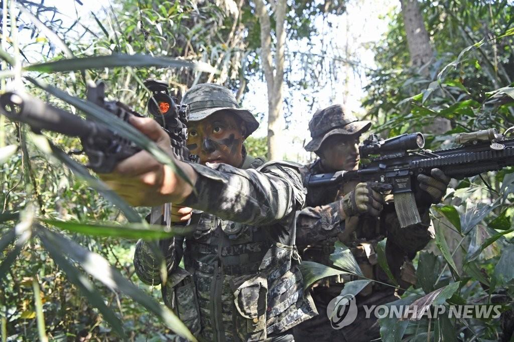 韓軍暫定縮減金色眼鏡蛇聯演參演規模
