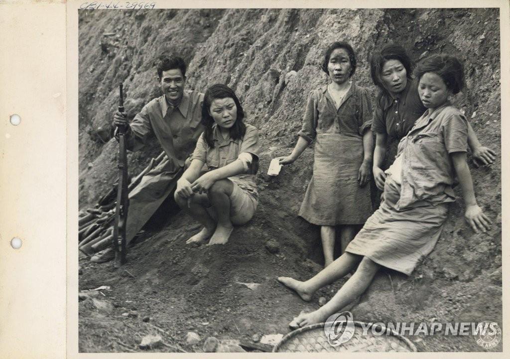 資料圖片:二戰時期的慰安婦受害者 韓聯社/首爾大學研究小組供圖(圖片嚴禁轉載複製)