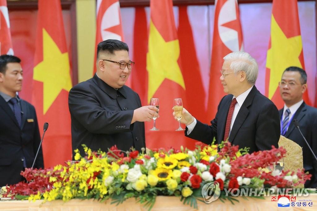 金正恩致電越南主席祝賀越南國慶75週年