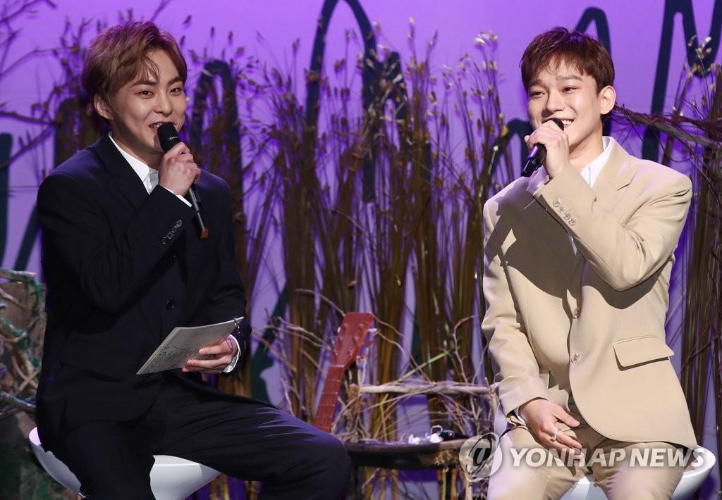 EXO主唱CHEN:望以深情歌聲觸動心靈