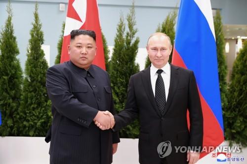 金正恩與普京互致賀電紀念光復節