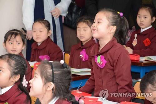 朝媒:朝鮮中小學緊鑼密鼓準備開學