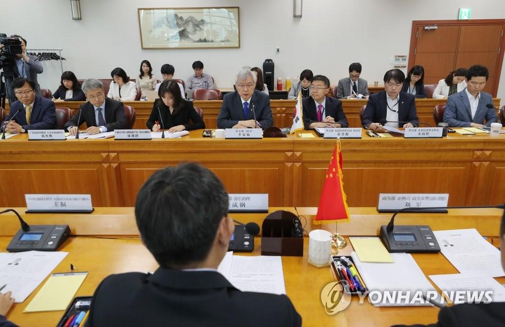 韓中經貿聯委會下月1日在青島舉行