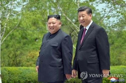 中俄領導人致電金正恩祝賀朝鮮建政71週年