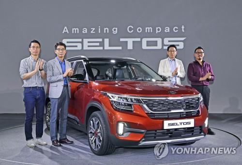 今年前4月南韓小型SUV銷量排名第一