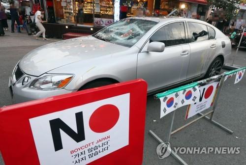 南韓9月日係車銷量同比大減六成