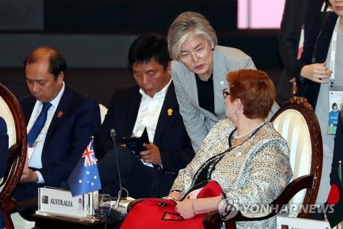 韓政府擬借東盟系列外長會敦促朝鮮重返對話