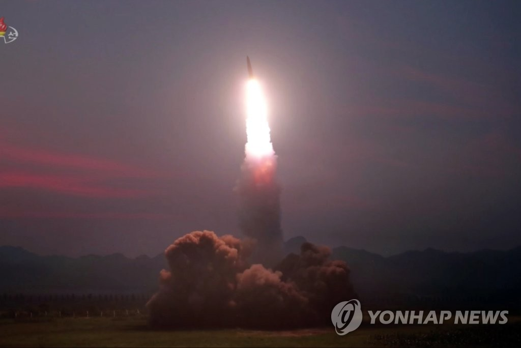 詳訊:韓軍研判朝鮮今射飛行器疑似近程彈道導彈