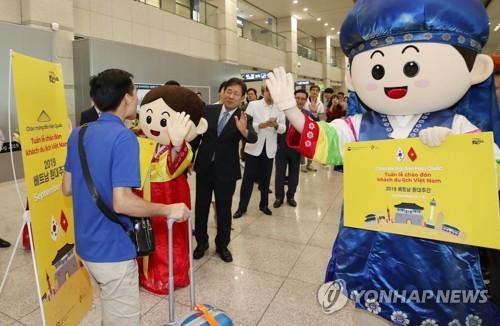 韓9月接待外國遊客同比增14.2%