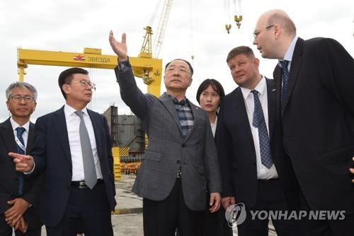 韓副總理將訪俄共商經濟合作方案