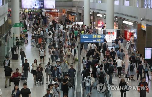 國慶黃金周訪韓中國人同比增7.5%