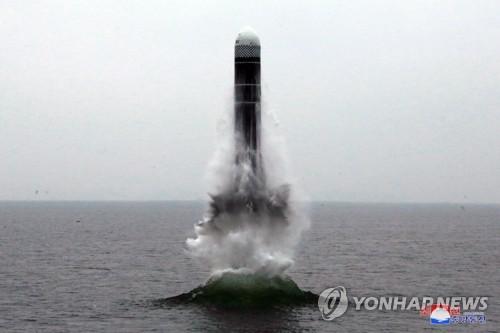 """詳訊:朝鮮稱""""北極星3""""號潛射導彈試射成功"""