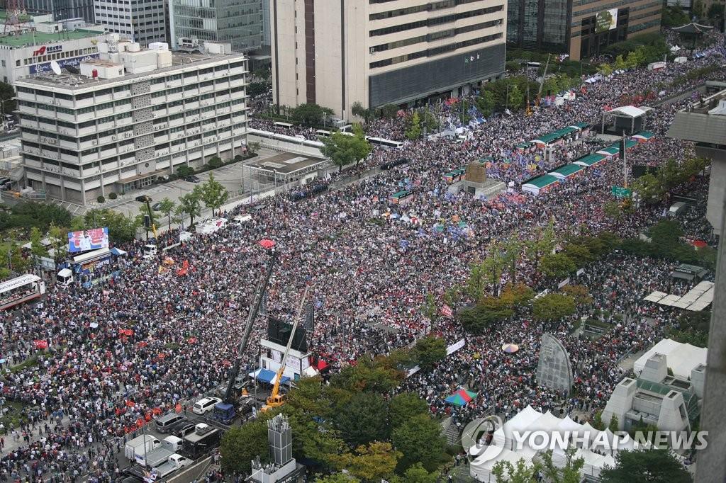 韓政府重申將嚴懲下月初節假日違法集會