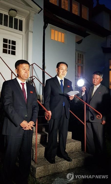 朝鮮重申美國放棄敵對政策是對話前提