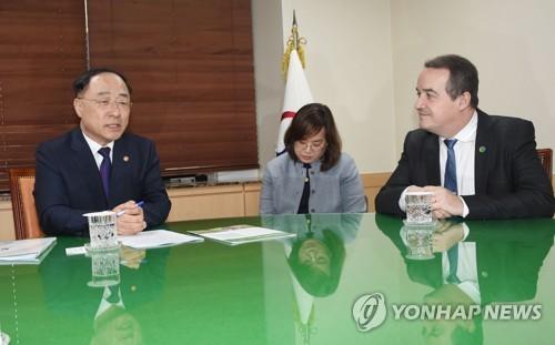 南韓將為綠色氣候基金出資2億美元