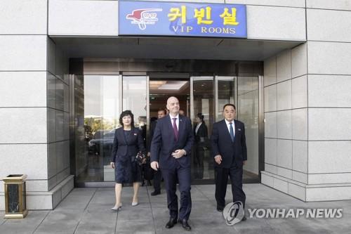 國際足聯主席就世預賽韓朝對決零觀眾不直播表遺憾