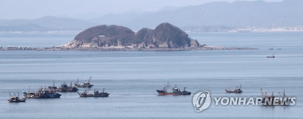 南韓西部海域非法捕撈中國漁船增多