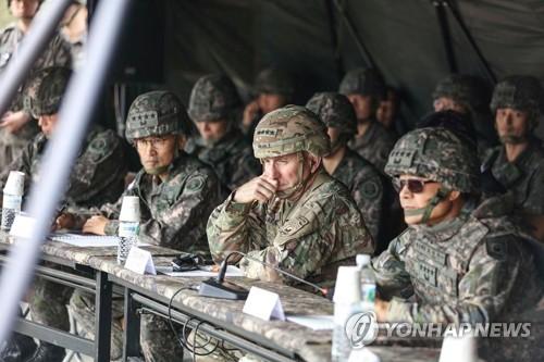 韓美紀念聯軍司令部成立41週年