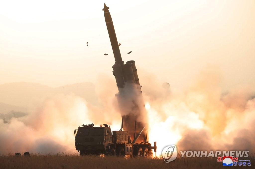 """朝媒稱""""超大型火箭炮""""試射成功"""