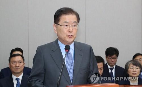 南韓國安首長:將力促朝鮮重返對話