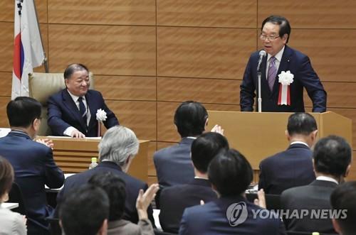 韓日議員聯盟吁早日舉行文安會
