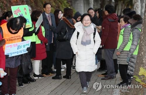 南韓高考最高齡考生