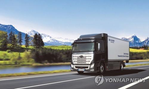 現代汽車擬在華生產氫燃料商用車