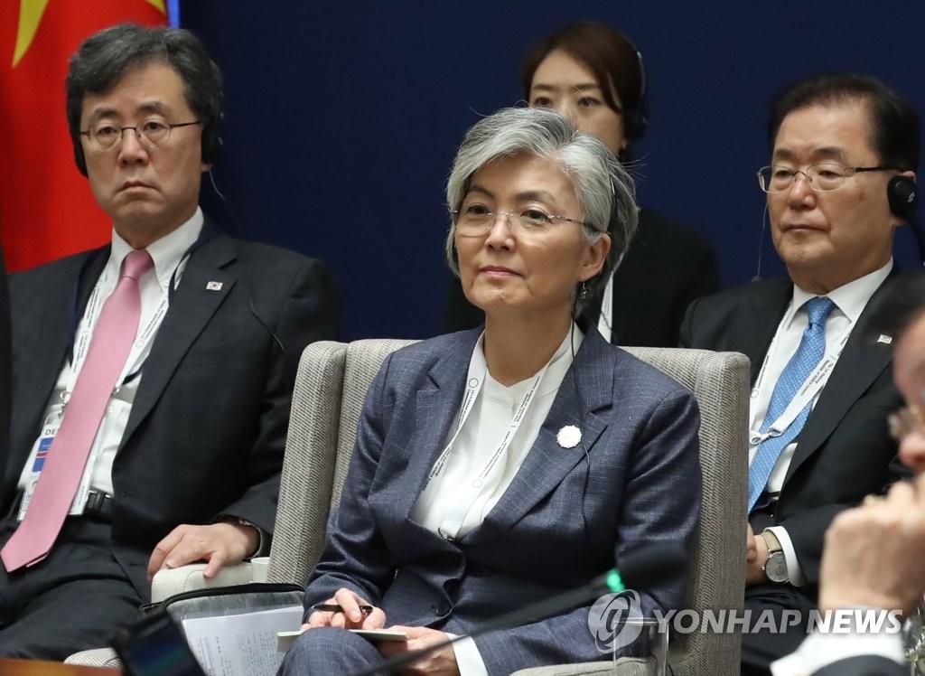 康京和:韓半島在任何情況下都不會生戰